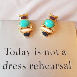 Lia Sophia Abstract Earrings